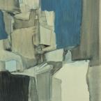 1961-11-BUD3_cristallisation_1961_64.5x47_lavis gouache sur papier