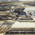 Bschorderet_1982-11_Etudes dhiver III_26.2.82_80x52_gouache aquarellée