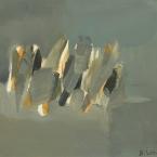 Bschorderet_1995-13-V_Figure grise_23.11.95_20x26_gouache sur papier